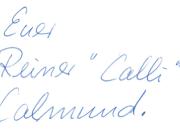 Signatur Calli