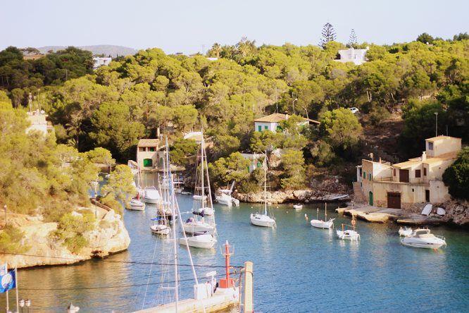 Hafen Porto Petro Mallorca