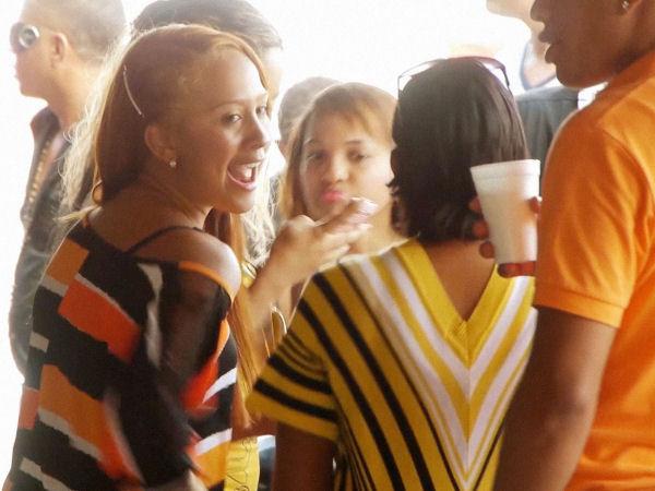 Dominikanische Republik El Batey Tanzlokal