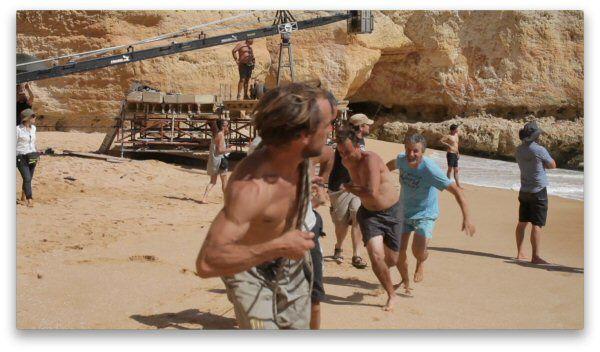 TUI TV Spot, Dreh in Portugal