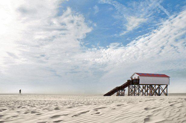 Beach Motel: Den Strand direkt vor der Haustür