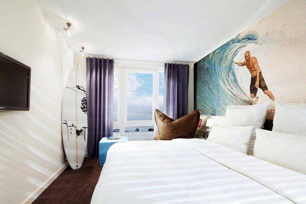 Zimmer im Beach Motel