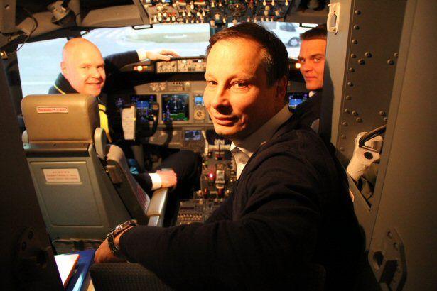 Blick ins Cockpit