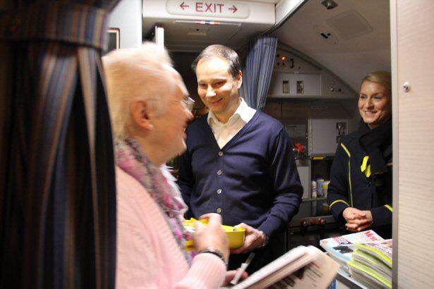 Christian Clemens begrüßt die Gäste
