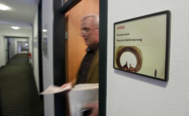 Der TUI Krisenraum in der TUI Deutschland Zentrale in Hannover ist das Herz des Krisenmanagements.