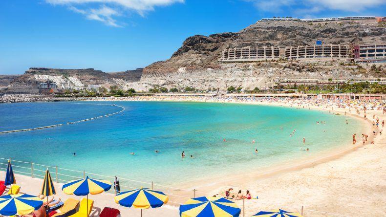Zählt ganz klar zu den schönsten Stränden Gran Canarias: der Playa de Amadores