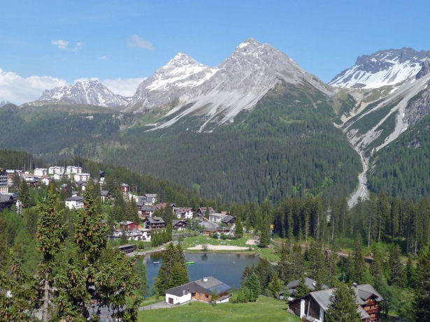 Arosa in der Schweiz