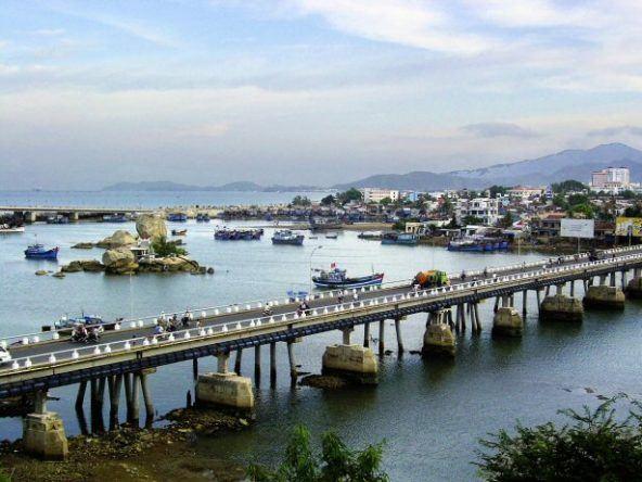 Hafen von Nha Trang in Vietnam