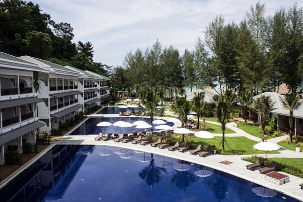 Einer der Pools im Sensimar Khaolak Beachfront Resort