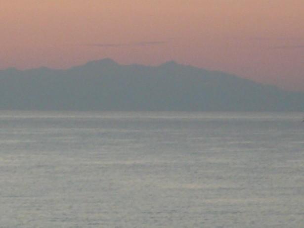 Blick auf die Berge Montenegros