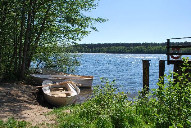 Eine Ruderfahrt auf dem Drewitzer See - das würde mir gefallen.
