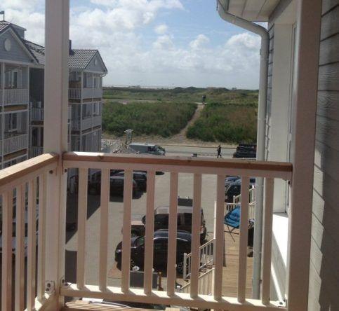 Ausblick vom Balkon im Beach Motel