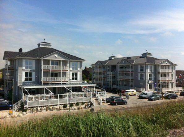 Das Beach Motel in St. Peter Ording in seiner ganzen Pracht