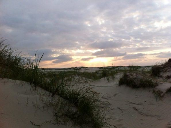 Sonnenuntergang in St. Peter Ording