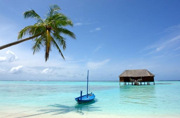 Die Malediven sind paradiesisch.