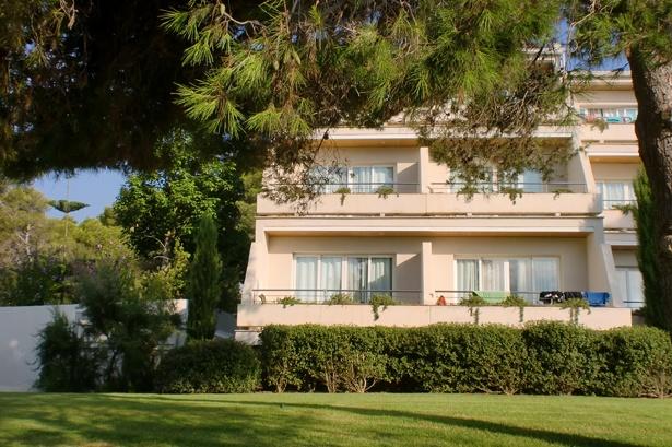 Zimmeraussenansicht im Puravida Resort auf Mallorca
