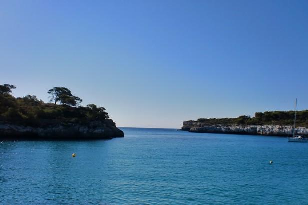 Bucht im Naturpark Mondrago auf Mallorca