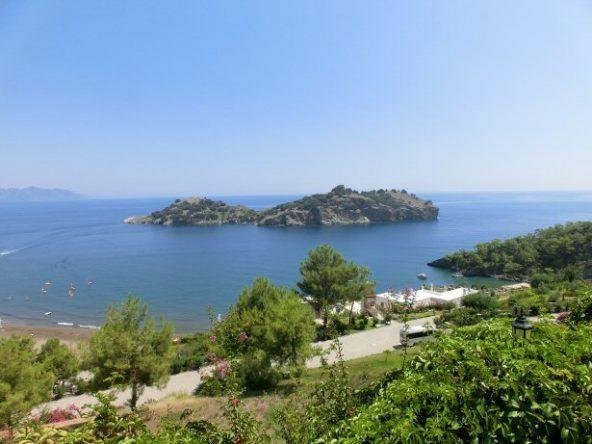 Ausblick vom Balkon im Puravida Resort Seno über die Bucht