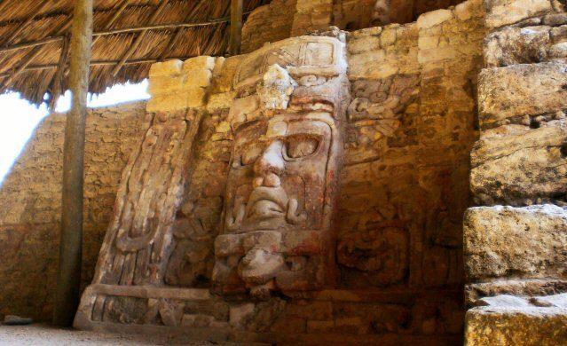 Die Mayastätte Kohunlich