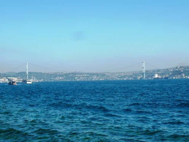 Die Bosporus-Brücke - Und zack ist man in Asien