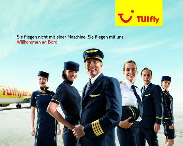 Aktuelle TUIfly Uniformen designed on Guido Maria Kretschmer