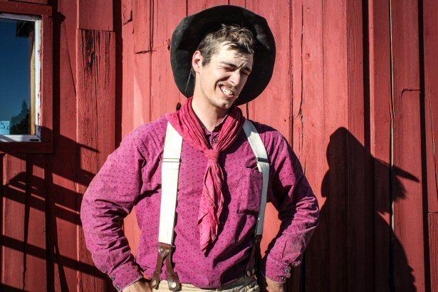 Cowboy in Wyoming