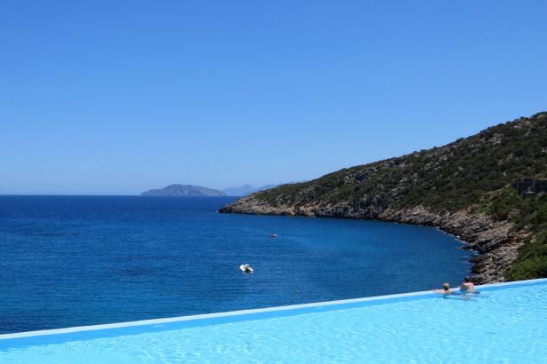Infinity Pool Daios Cove Resort