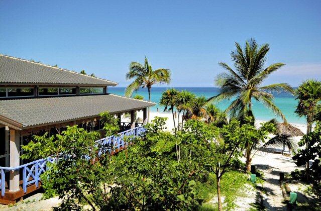 Hotel Meliá Las Americas Resort mit Gartenanlage direkt am Strand
