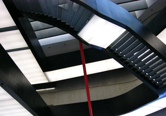 Die Architektur des Museo Maxxi