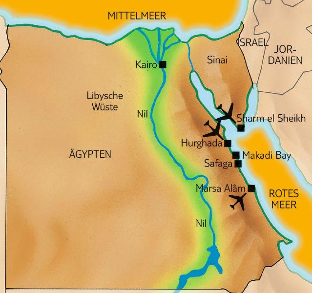 Makadi Bay Karte.Jetzt Nach ägypten Wo Die Kamele Tanzen Tui Com Reiseblog