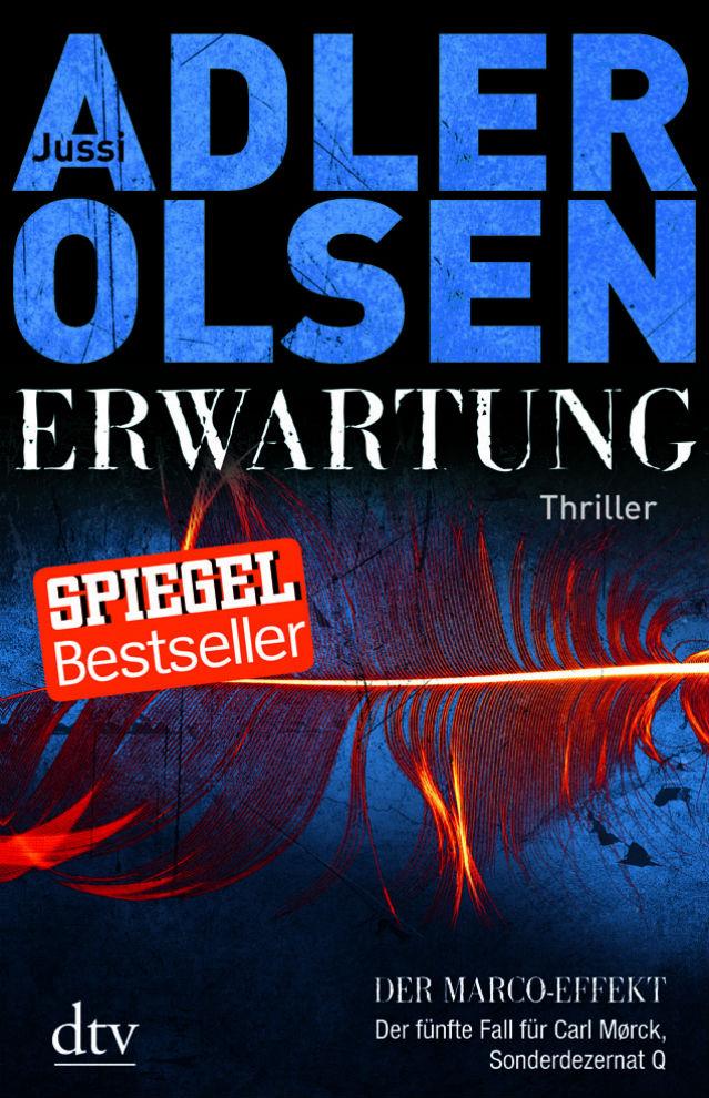 Buchcover des neuen Krimis von Adler-Olsen