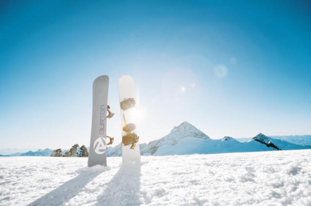 Sonne, Berge, Schnee... Was kann es schöneres geben?