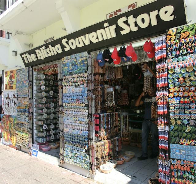 Souvenirshop in Santo Domingo