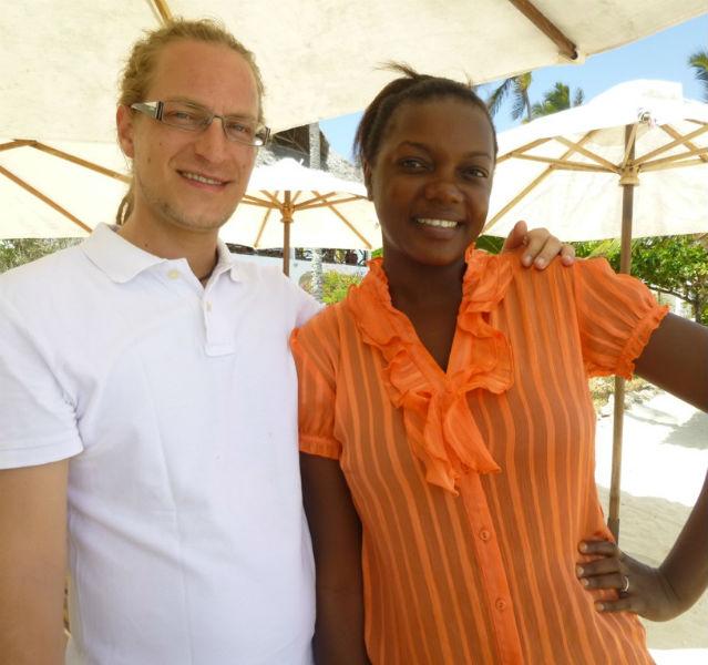 Anwar Beiser aus Westfalen und Fatma aus Sansibar