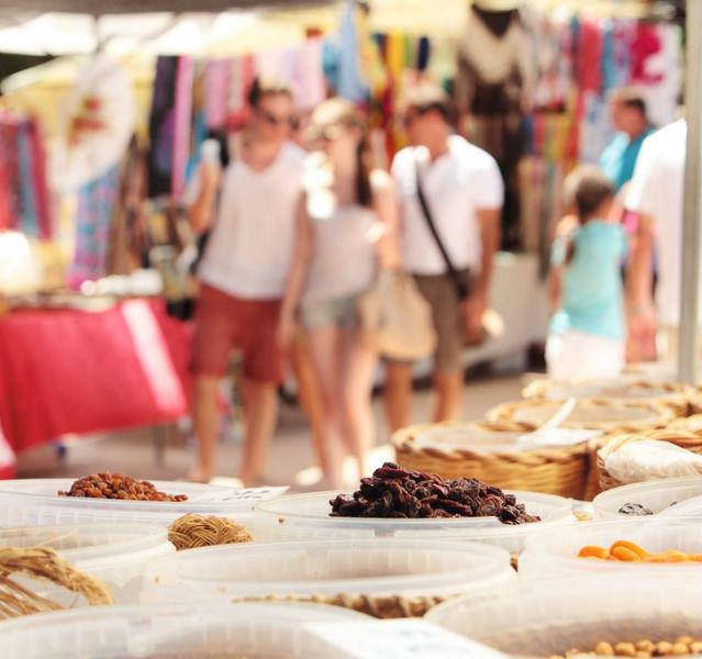 Markt auf Mallorca