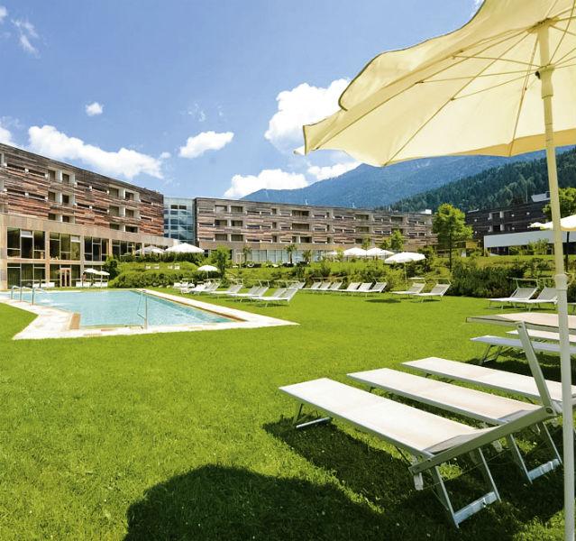 Entspannung mitten in Alpen genießen die Gäste im Falkensteiner Hotel Carinzia