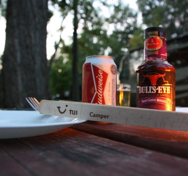 TUI Camper Grillzange
