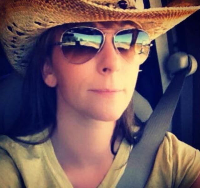 Reisefreundin Angie on the road
