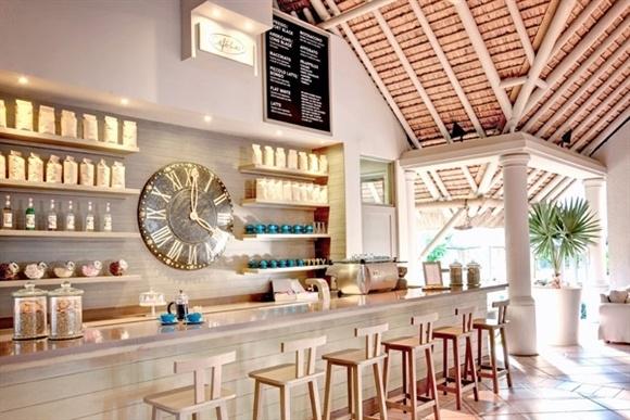 Kaffeebar des Lux Resorts