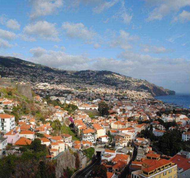 Beste Aussicht in Hanglage: Funchal ist die Hauptstadt von Madeira