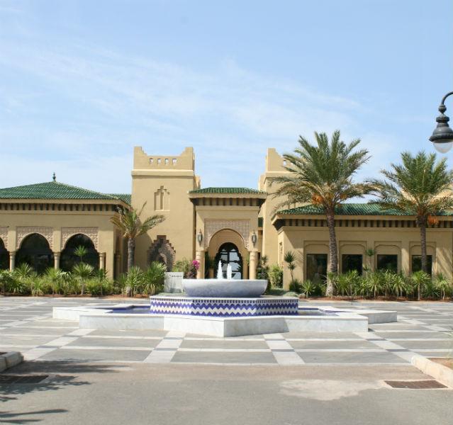 Orientalisch-edel: Der Mazagan Spa in Casablanca ist in einem eigenen, Marokkotypischen Gebäude untergebracht – Fotos (2): Gehm