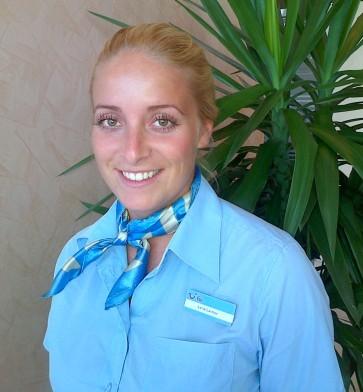 Reiseleiterin Lena Laimer, TUI Service Dubai