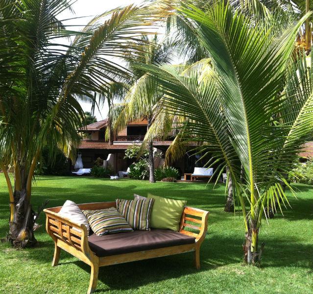 Tropengarten Lux Resort Le Morne auf Mauritius