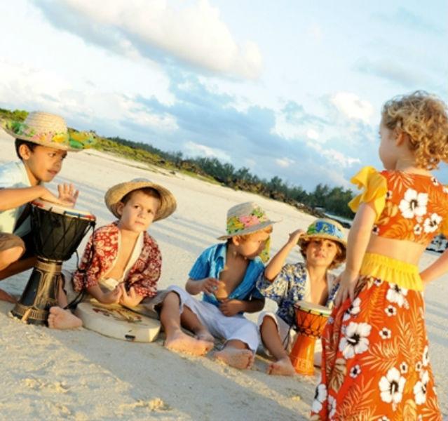 Kinder am des Lux Resorts