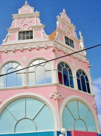 Haus in Oranjestad auf Aruba