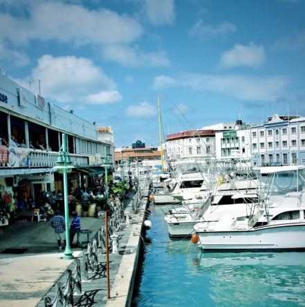 Hafen in Bridgetown, Barbados