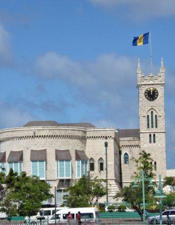 Parliament-Building in Bridgetown