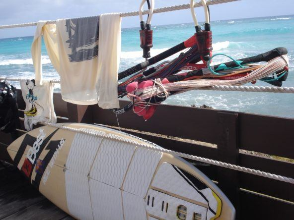 Barbados Kitesurfingausstattung