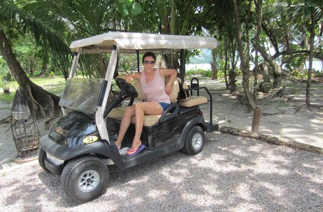 Mit dem Honeymoon-Mobil durch die Flitterwochen