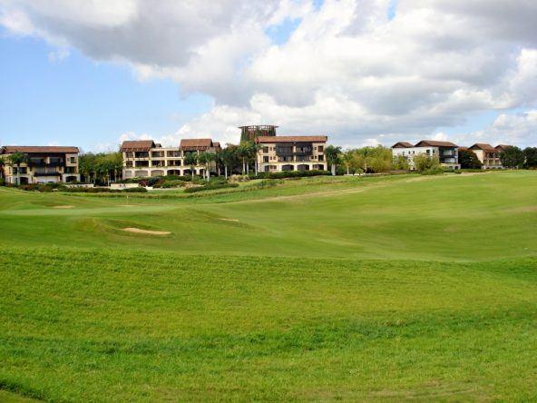 Golfplatz in der Dominikanischen Republik
